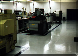 Machine Shop floor coated with CRU-Elite
